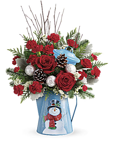 Snowy Daydreams Bouquet - Winter 2018