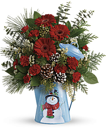 Vintage Snowman Bouquet - Winter 2018